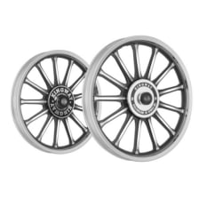 Buy ALLOY WHEEL SET FOR RE STANDARD BLACK 13SPOKES HARLEY CNC KINGWAY on 10.00 % discount