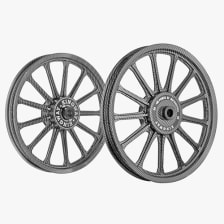 Buy ALLOY WHEEL SET FOR RE ELECTRA PRINTING 2 13SPOKES HARLEY KINGWAY on 14.50 % discount