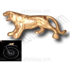 Buy FRONT MUDGUARD LION BRASS FOR ROYAL ENFIELD BULLET ZADON on 15.00 % discount
