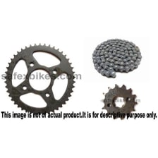 Buy CHAIN AND SPROCKET KIT PULSAR180 CC IFB on 10.00 % discount