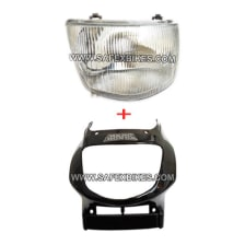 Buy FRONT FAIRING WITH HEAD LIGHT ASSY CBZ ZADON on  % discount