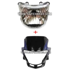 Buy FRONT FAIRING WITH HEAD LIGHT ASSY GLAMOUR ZADON on 25.00 % discount