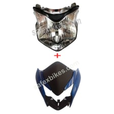 Buy FRONT FAIRING WITH HEAD LIGHT ASSY TWISTER ZADON on 0 % discount