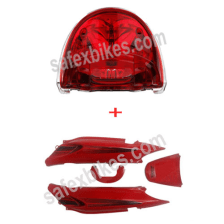 Buy TAIL PANEL GLAMOUR WITH TAIL LIGHT ASSY GLAMOUR ZADON on 28.00 % discount