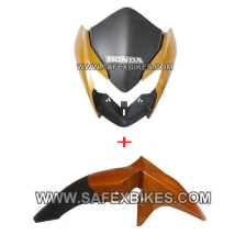 Buy FRONT MUDGUARD WITH FRONT FAIRING TWISTER ZADON on  % discount
