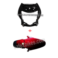 Buy FRONT MUDGUARD WITH FRONT FAIRING STUNNER ZADON on 25.00 % discount