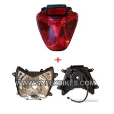 Buy HEAD LIGHT ASSY WITH TAIL LIGHT ASSY KARIZMA ZADON on 0 % discount