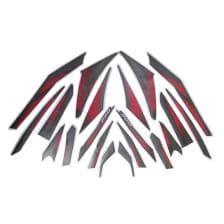Buy COMPLETE STICKER KIT PULSAR 220 BS4 ZADON on 0.00 % discount