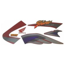 Buy COMPLETE STICKER KIT HONDA SHINE TYPE 1 ZADON on 0.00 % discount