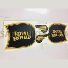 Buy COMPLETE STICKER KIT ROYAL ENFIELD CLASSIC 350 ZADON on  % discount