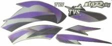Buy COMPLETE STICKER KIT TVS STAR CITY NM ZADON on 0.00 % discount