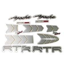 Buy COMPLETE STICKER KIT APACHE RTR180 ZADON on 10.00 % discount