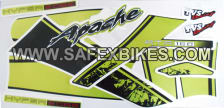 Buy FRONT FAIRING (VISOR) APACHE RTR NM (BEAST) ZADON on 0 % discount