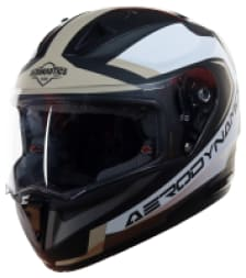 Buy FULL FACE HELMET SA-1 AERODYNAMICS MAT BLACK WITH DESERT STROM STEELBIRD on 10.00 % discount