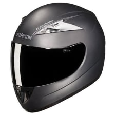 Buy HELMET SCORPION WITH MIRROR VISOR FULL FACE STUDDS on 0 % discount