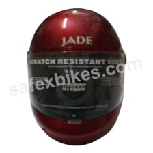 Buy HELMET JADE FULL FACE STUDDS (RED CHERRY) STUDDS on 10.00 % discount