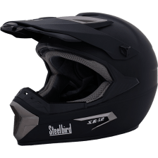 Buy STEELBIRD-F.F.H-SB-32 FULL FACE (MOTO CROSS BLACK) (60 CM) on 10.00 % discount