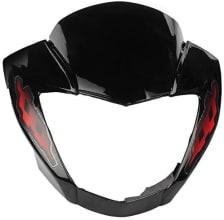 Buy FRONT FAIRING (VISOR) GLAMOUR DIGITAL UB WITH OET GLASS ZADON on  % discount