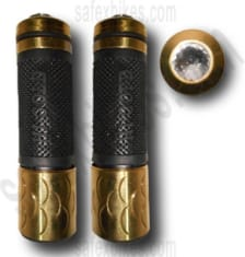 Buy FANCY HANDLE GRIP BRASS FOR ROYAL ENFIELD BULLET ZOOM on  % discount