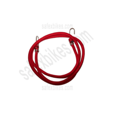 Buy RED ELASTIC ROPE WITH HOOK(6 FT) on 15.00 % discount