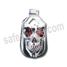 Buy HELMET CHROME SUPER FULL FACE D1 DECOR STUDDS on 20.00 % discount