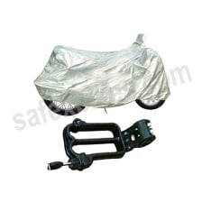Buy UNIVERSAL BODY COVER WITH HELMET LOCKING DEVICE ZADON on 20.00 % discount