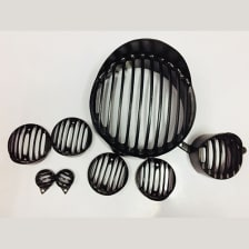 Buy COMPLETE BLACK GRILL SET OF 8 FOR STANDARD 350CC ZADON on 0 % discount