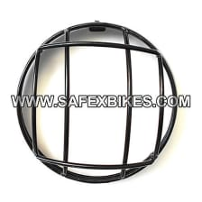 Buy HEAD LIGHT JALI / GRILL BLACK FOR ROYAL ENFIELD BULLET D2 ZADON on 13.00 % discount
