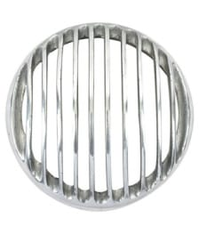 Buy ZADON HEAD LIGHT GRILL CHROME PLATED 7.5 INCH FOR ROYAL ENFIELD BULLET on 13.00 % discount