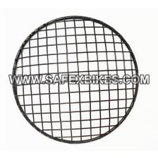 Buy HEAD LIGHT JAALI / GRILL BLACK NET TYPE FOR ROYAL ENFIELD BULLET ZADON on 0 % discount