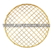 Buy HEAD LIGHT JAALI / GRILL GOLDEN NET TYPE FOR ROYAL ENFIELD BULLET ZADON on 15.00 % discount