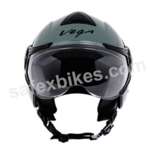 Buy Vega - Verve Ladies open face Helmet (Army Green) on 10.00 % discount