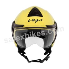 Buy Vega - Verve Ladies open face Helmet (Yellow) on 10.00 % discount