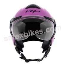 Buy Vega - Verve Ladies open face Helmet (Purple) on 10.00 % discount