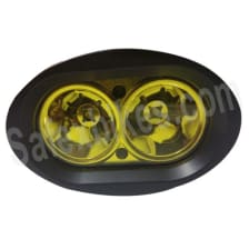 Buy LED FOGLAMP HEAVY DUTY METAL BODY 20WATT YELLOW ROADYS on 0 % discount
