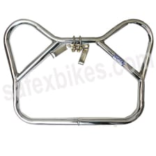 Buy LEG GUARD ARMY TYPE (EXTRA HEAVY) (SUPER CHROME) ROYAL ENFIELD ZADON on 10.00 % discount