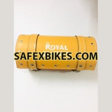 Buy TOOL BAG LEATHER SMALL LIGHT BROWN FOR ROYAL ENFIELD BULLET ZADON on  % discount