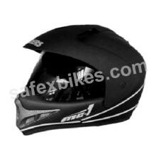 Buy GLIDERS FULL FACE MOTOCROSS HELMET WITH VISOR MC1 CHERRY RED on 26.00 % discount
