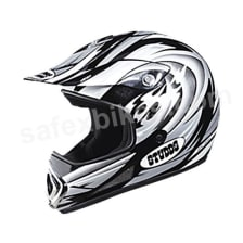 Buy HELMET MOTOCROSS FULL FACE DEVIL DECOR STUDDS on 0 % discount