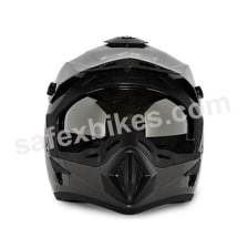 Buy Vega motocross full face Helmet - Off Road (Anthracite Grey) on 10.00 % discount