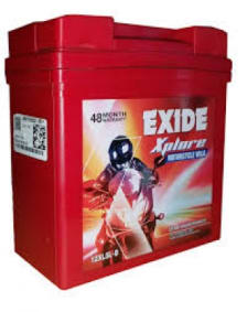 Buy XLTZ4 3AH BATTERY FOR BIKE EXIDE XPLORE on 0.00 % discount