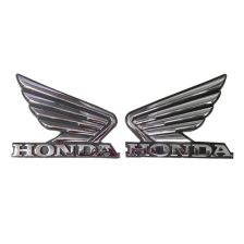 Buy PETROL TANK MONOGRAM (WINGS) OE SHINE on  % discount