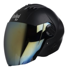 Buy OPEN FACE HELMET SBA-3 DASHING BLACK (600MM) STEELBIRD AIR on  % discount