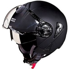Buy HELMET CHROME WITH MIRROR VISOR FULL FACE STUDDS on 10.00 % discount