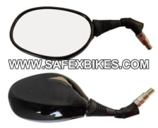 Buy REAR VIEW MIRROR GLAMOUR BLACK RHS SLD on 6.00 % discount
