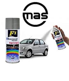 Buy F1 AEROSOL SPRAY PAINT SILVER SHINNING FOR MULTIPURPOSE(CAR,BIKE,CYCLE) on  % discount
