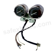 Buy EXTRA FITTING DOUBLE SPEEDOMETER ASSY (UNIVERSAL) FOR MOTORCYCLES on 10.00 % discount