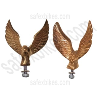 Click to Zoom Image of FRONT MUDGUARD BRASS EAGLE FOR ROYAL ENFIELD ZADON