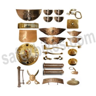 Click to Zoom Image of BRASS COMPLETE ACCESSORIES KIT FOR BULLET ROYAL ENFIELD SET OF 28 ZADON