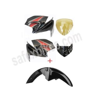 Click to Zoom Image of FRONT FAIRING AND MUDGUARD KARIZMA R ZADON